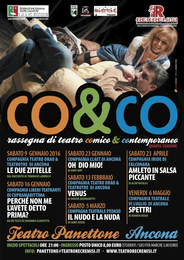CO&CO – RASSEGNA DI TEATRO CONTEMPORANEO E COMICO