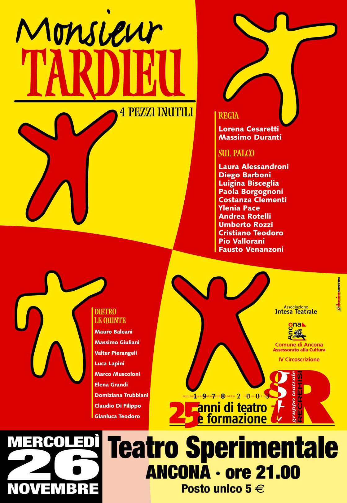 Monsieur TARDIEU - 4 pezzi inutili