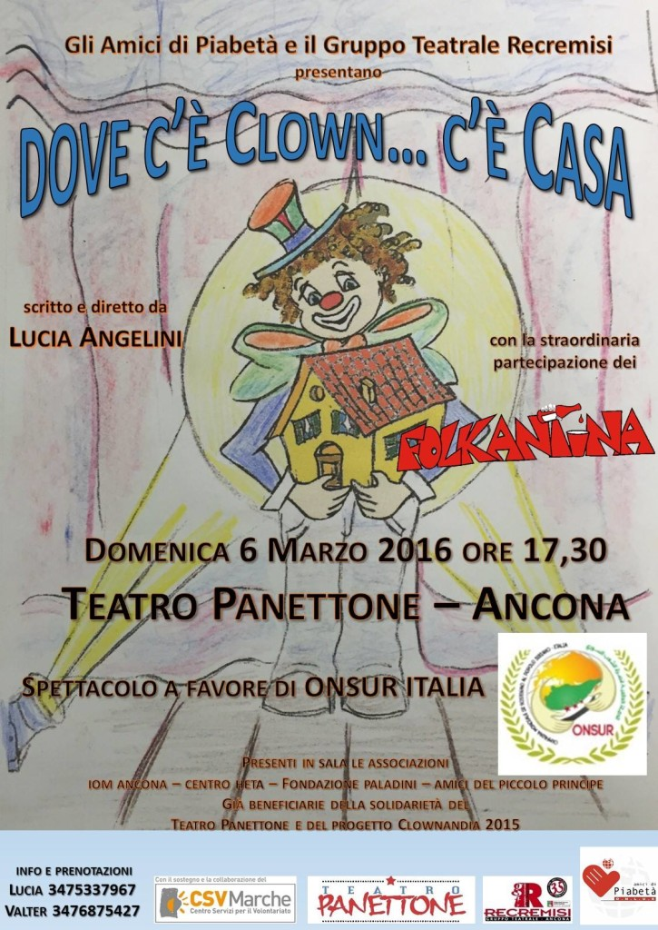 Dove c'è clown… c'è casa