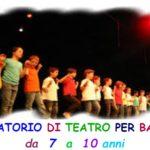 Laboratorio teatrale per bambini (7-10 anni)