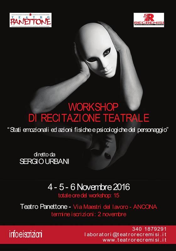 Workshop di recitazione teatrale