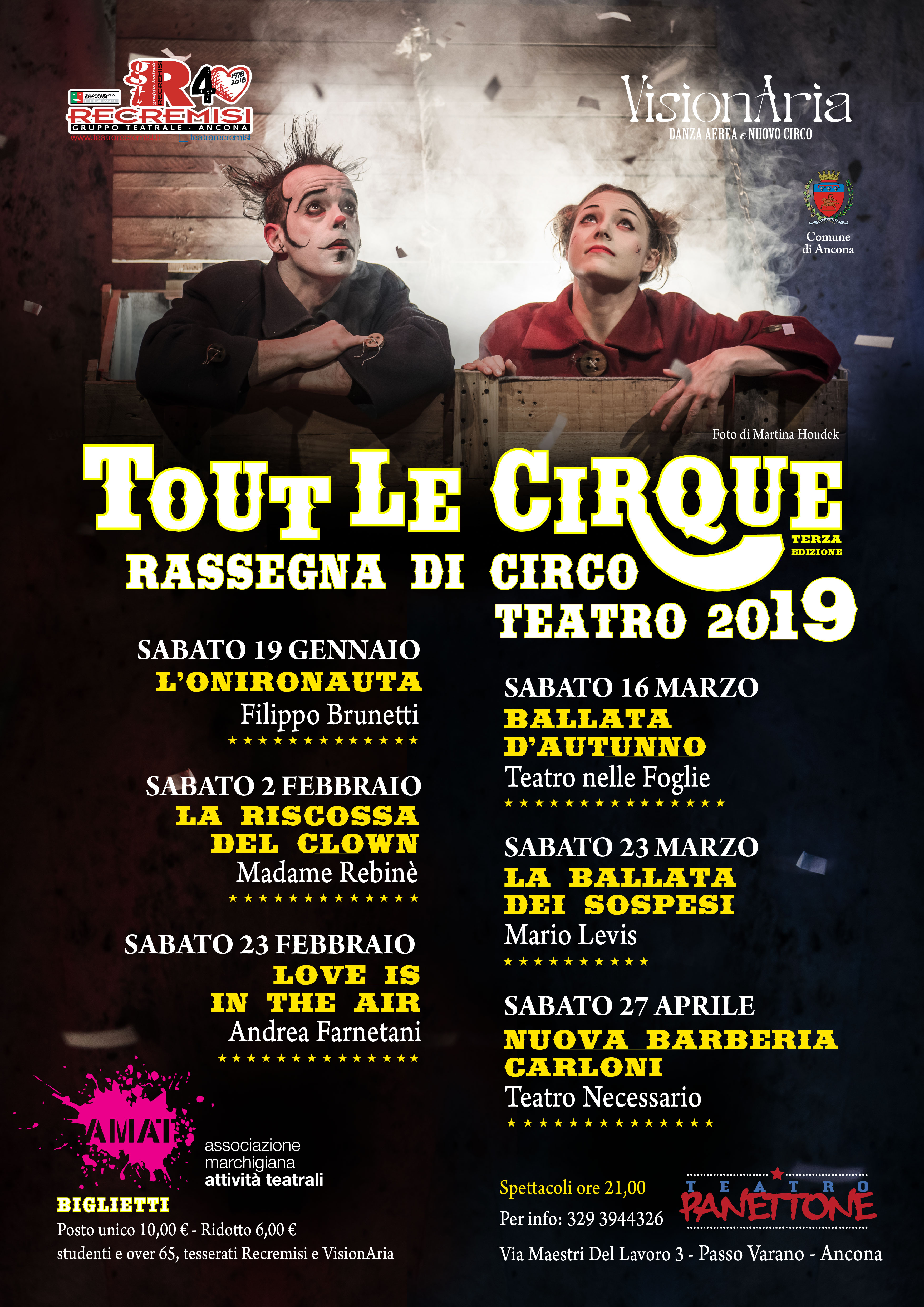 Tout Le CirQue: Love is in the air