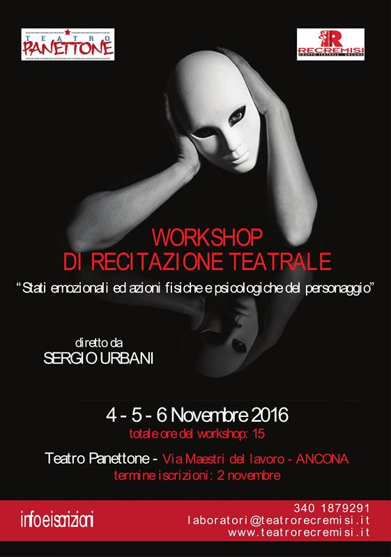 Workshop di recitazione teatrale