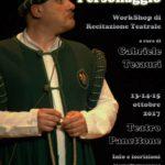 Workshop di recitazione teatrale con Gabriele Tesauri
