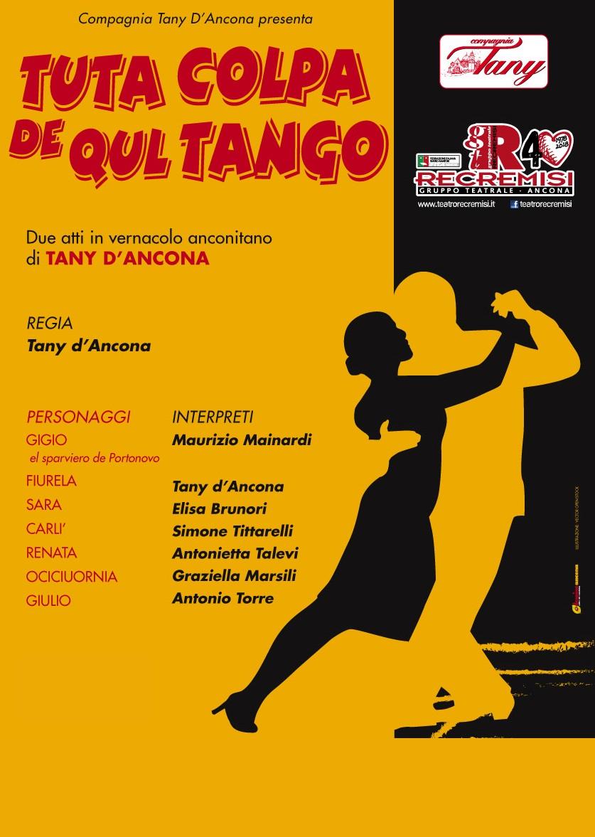 Tuta colpa de qul tango – 23 GIUGNO 2018
